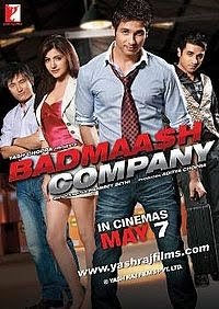 Badmaash Company Hindi movie 2010