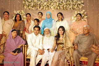 Engagement of Sadiya Jahan Prova and her boy-friend Rajib Hassan total family both of theme picture