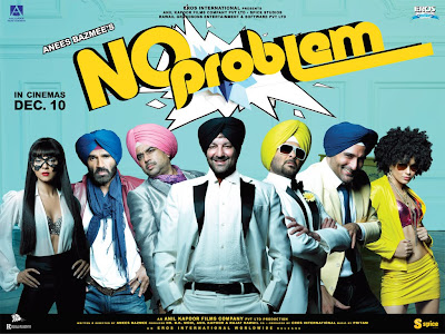 No Problem Bollywood Hindi movie wallpapers, information, review