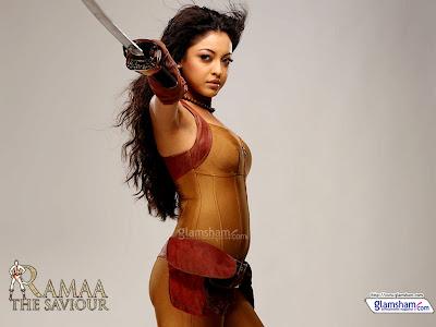 Ramaa The Saviour Tanushree Dutta Photo Gallery, Ramaa The Saviour Movie Download review