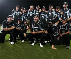 New Zealand Cricket Team Members List for ICC World Cup Cricket 2011