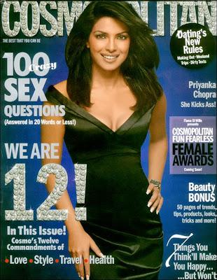 Priyanka Chopra graces the cover off Cosmopolitan November 2008