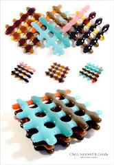 Latticeware coasters: