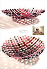 'Sugar & Spice' latticeware bowl: