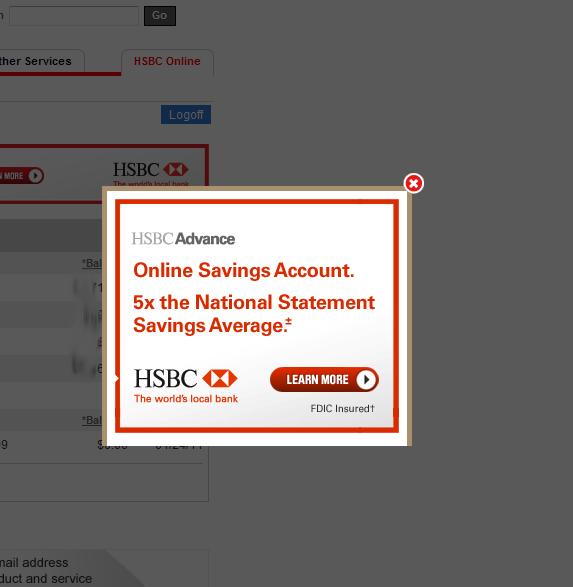 The Pixel Paddock Blog: HSBC: The worst brand on the internet