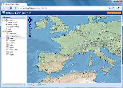 map tiles | Natural Earth | shapefile download shp data