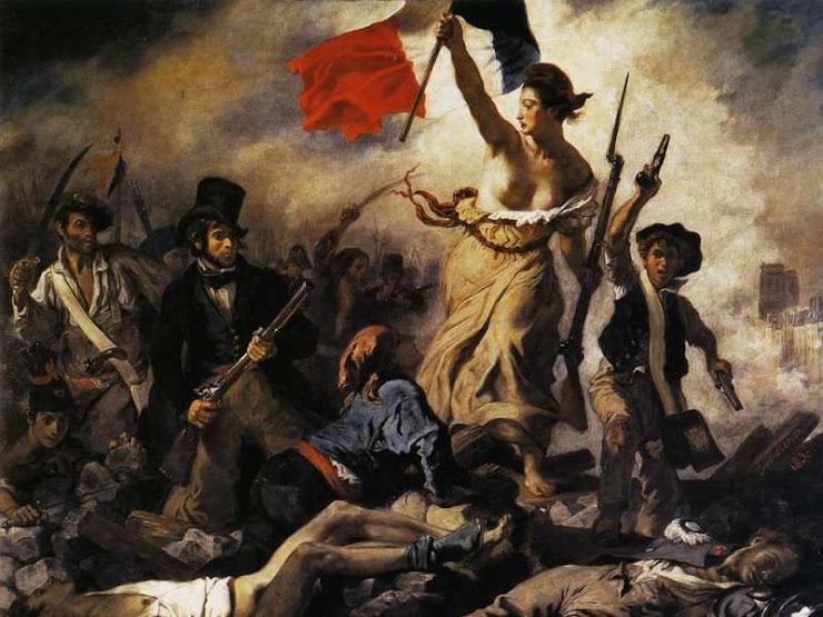 """""""La Libertad guiando al pueblo"""""""