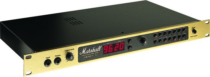 Best Rack Mount Guitar Preamp Marshall Jmp 1 Guitar