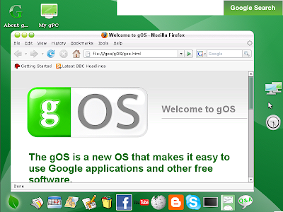 gOS screenshot