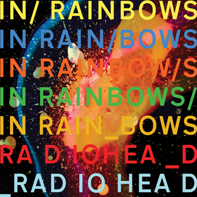 Official Radiohead In Rainbows Artwork