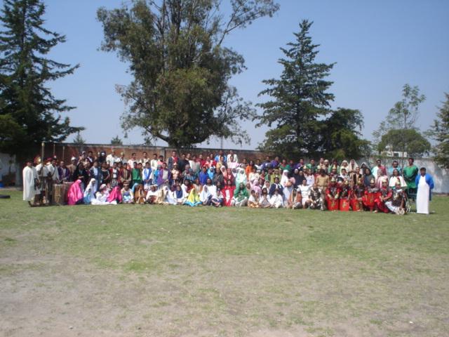 Congreso de los Vía-Crucis Vivientes Puebla 2007.
