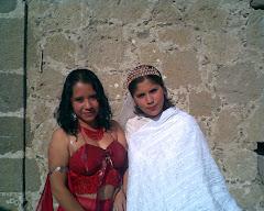 Rossy Amanda López Rivera y Marisol Castillo Camarena.