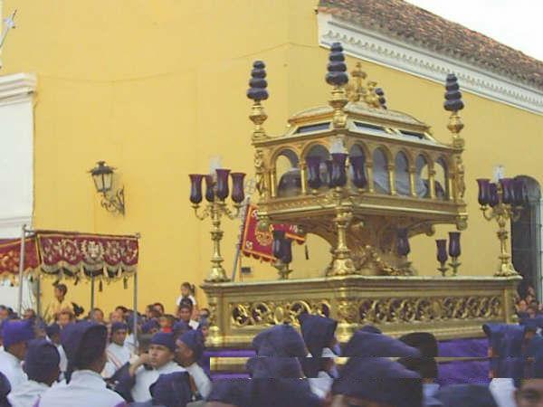 Semana santa en Santa Cruz de Mompox, Colombia.
