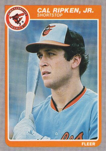 Cards On Cards All Glory To The 1985 Fleer