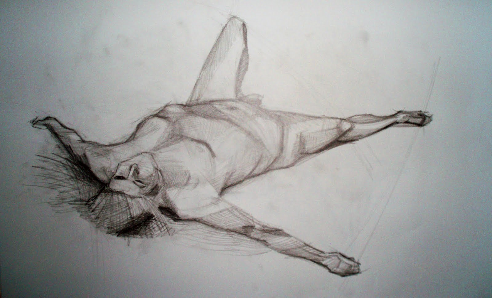 Yolantele Life Drawing Human Figure In Perspective
