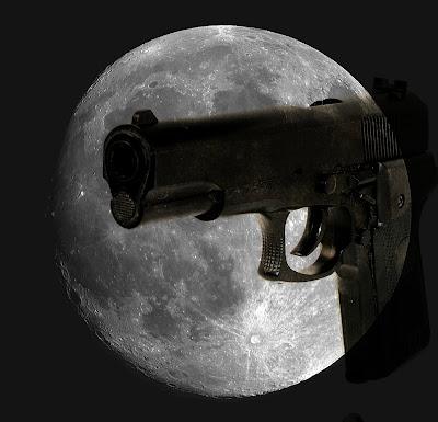 ☾   LA  LUNA  ... curiosidades , tópicos, leyendas....   ☸☽ Luna+y+pistola
