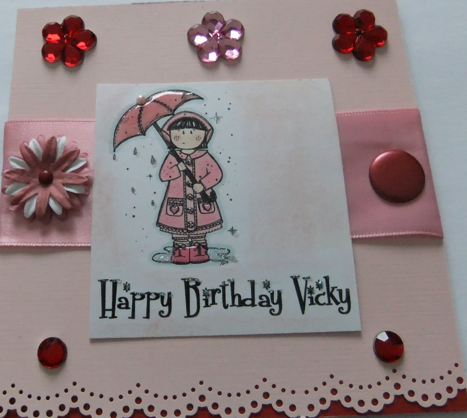 Scrappy Scatty Jan Happy Birthday Vicky