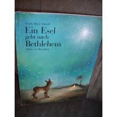 Ein Esel geht nach Bethlehem - bild von Amazon.de