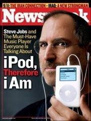 Newsweek - iPod de Quarta Geração - Steve Jobs
