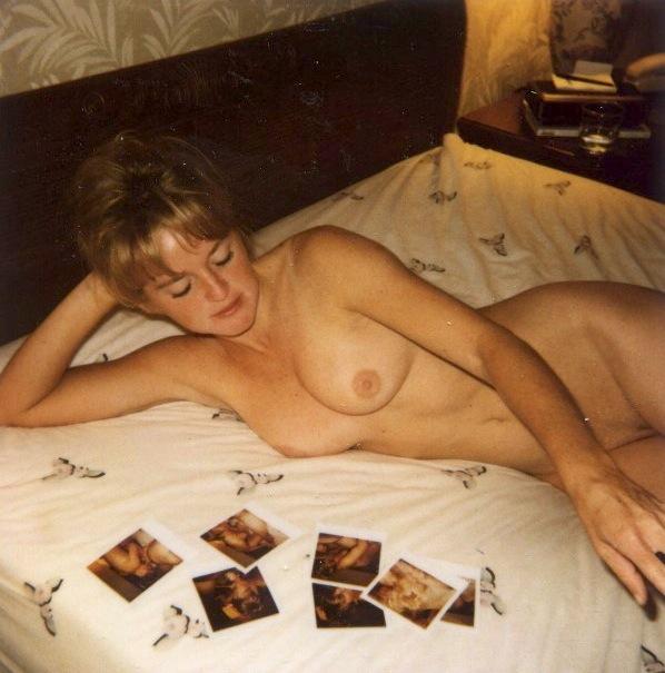 80s girlfriend polaroid