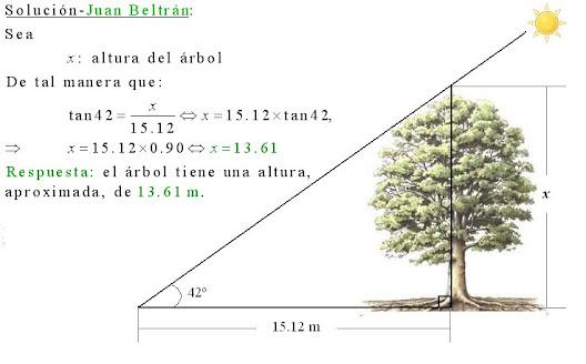 c lculo21 uso de la trigonometr a para hallar la altura