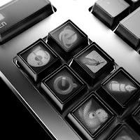 Un teclado de tans solo 12 botones