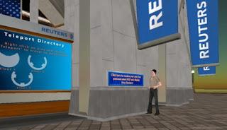Reuters en Second Life