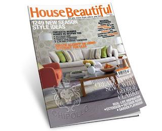 House Beautiful Magazine: March 2011