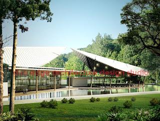 duo edge architecture design studio: modern tropica food