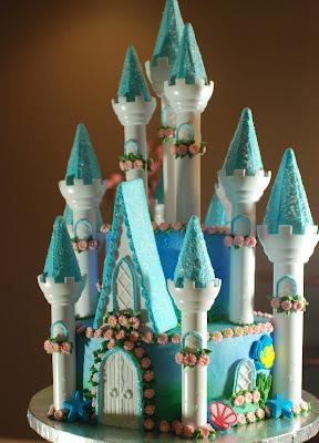 Frozen Cake Castle Easy