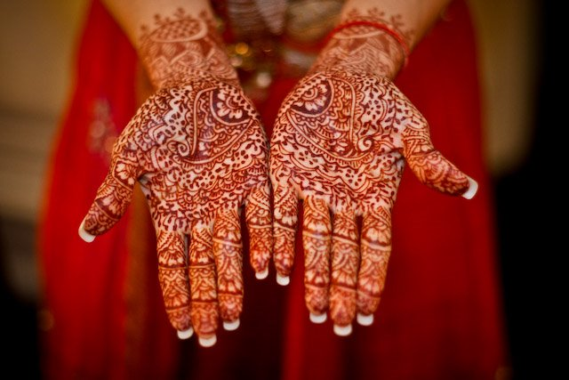 Henna Tattoo For Indian Wedding: Events By Evonne, LLC: Karen And Sanjay's Hindu Wedding (3