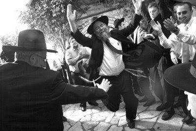 Ileneisraeljerusalemattending Orthodox Jewish Wedding