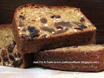 Resep Cake Kurma, Kacang Mete dan Kismis JTT