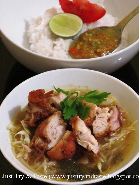 Resep Soto Ayam Goreng