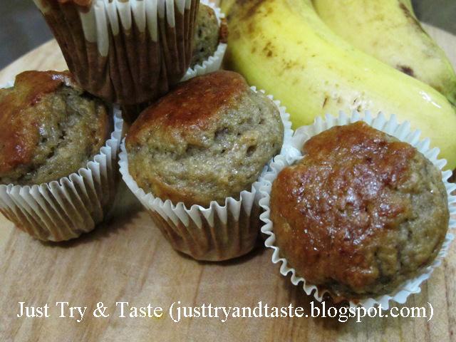 Resep Muffin Pisang (Banana Muffin) JTT
