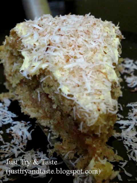 Resep Cake Kelapa a la Karibia JTT