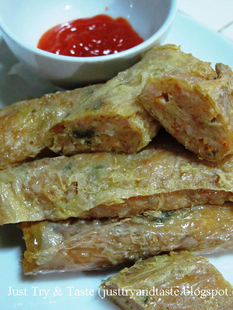 Resep Chicken Shrimp Roll JTT