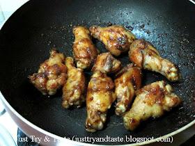 Resep Sayap Ayam Berbumbu
