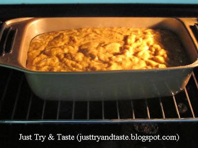 Resep Cake Labu Kuning (Pumpkin Bread) JTT