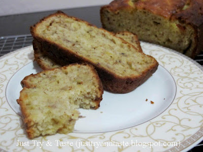 Resep Bolu Pisang (Banana Bread) JTT