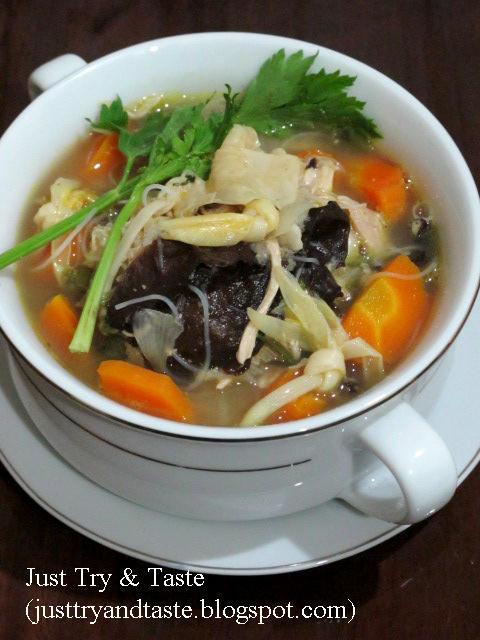 Resep Sup Jamur : resep, jamur, Resep, Kimlo, Taste
