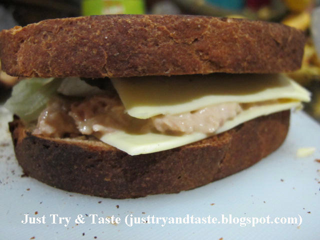 Sandwich Roti Gandum Isi Tuna Just Try Amp Taste