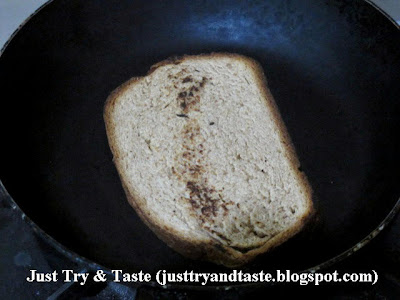 Sandwich Roti Gandum Isi Tuna