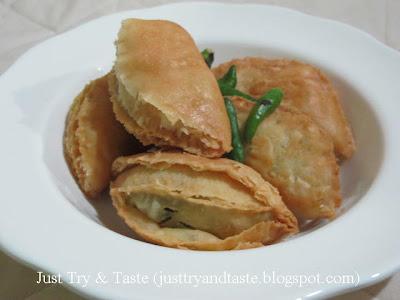 Resep Pastel Pastry Bumbu Kari  JTT
