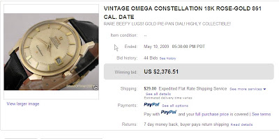 Fake 14k Gold Omega Constellation Watch
