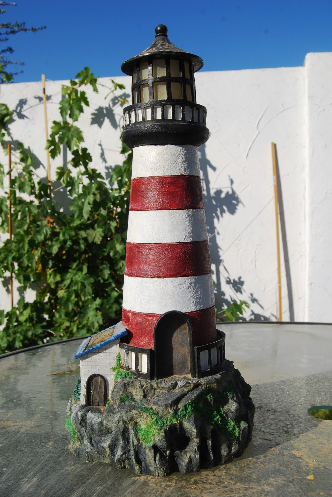 Wood Backyard Lighthouse Pdf Plans