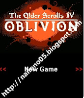 The Elder Scrolls 4(IV) oblivion Java Games