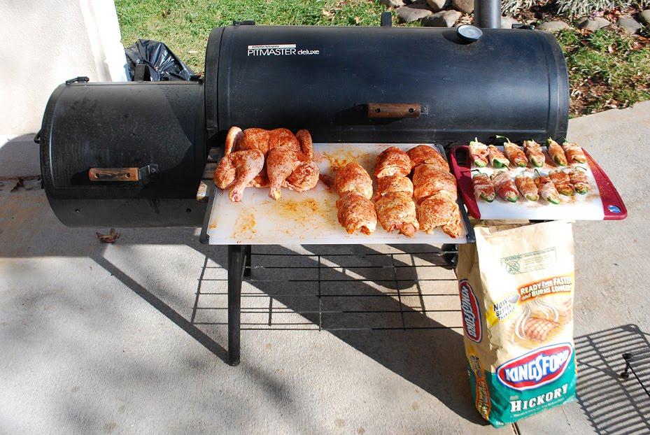 How I Smoke Chicken On My Cheap Offset Smoker Brinkmann