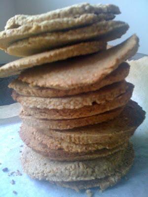 Homemade oatcakes