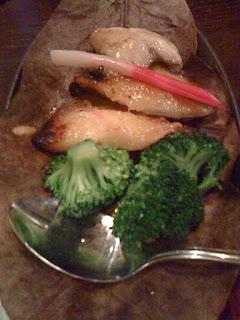black cod at Bento café